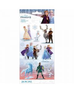 Frozen II Characters Stickers - Disney - EK