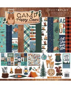 Camp Happy Bear Collection Pack - Becky Moore - PhotoPlay*