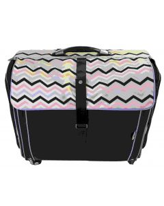 CGull ultimate scrapbooking and machine tote in Chevron