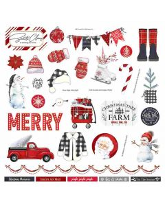Christmas Cheer Element Stickers - PhotoPlay