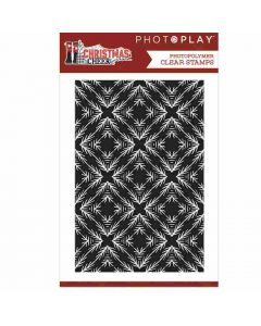Christmas Cheer Background Clear Stamp - PhotoPlay