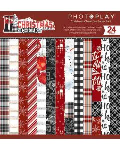 "Christmas Cheer 6"" x 6"" Paper Pad - PhotoPlay"