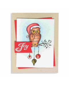 Joanne Fink Christmas Owl Project