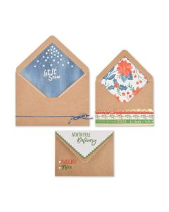 Sizzix Christmas Envelope Liners