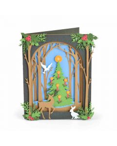 Christmas Shadow Box Thinlits Die Set - Courtney Chilson - Sizzix