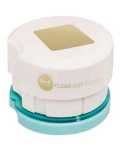 Clear square punch die from We R Memory Keepers