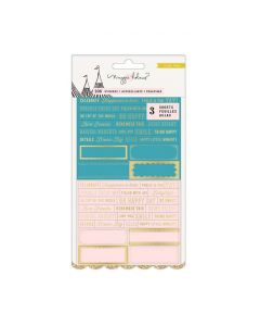 Clear Carousel Stickers