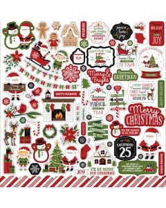 Christmas Magic Element Stickers - Echo Park