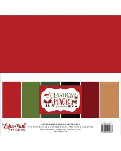 Christmas Magic Solids Kit - Echo Park