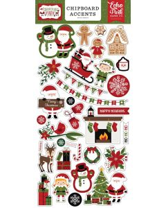 Christmas Magic Chipboard Accents - Echo Park