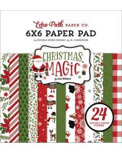 "Christmas Magic 6"" x 6"" Paper Pad - Echo Park"