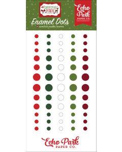 Christmas Magic Enamel Dots - Echo Park