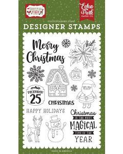Magical Christmas Stamps - Christmas Magic - Echo Park