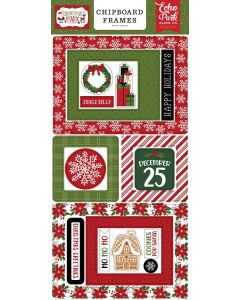 Christmas Magic Chipboard Frames - Echo Park