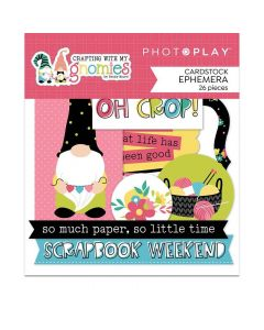 Crafting With My Gnomies Ephemera - Becky Moore - PhotoPlay