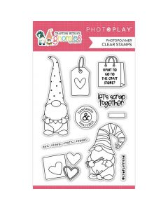 Crafting With My Gnomies Stamps - Becky Moore - PhotoPlay*