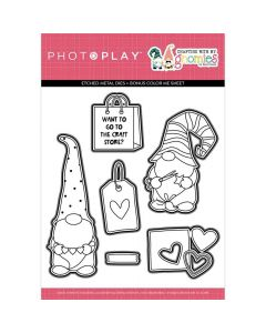 Crafting With My Gnomies Dies - Becky Moore - PhotoPlay*