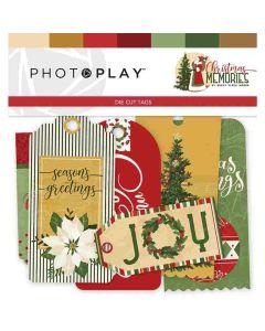 Christmas Memories Tag Ephemera - Becky Fleck Moore - PhotoPlay