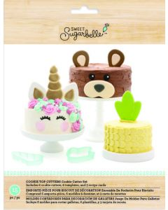 Sweet Sugarbelle Cookie cutter cake toppers