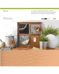 Basic Corrugated Cardboard sampler set