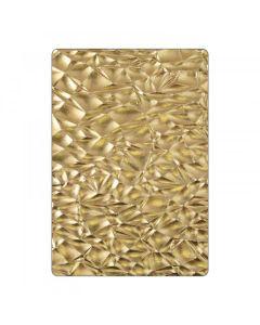 Crackle 3-D Texture Fades Embossing Folder - Tim Holtz - Sizzix