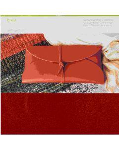 Cricut Maker Cranberry Genuine Leather Material