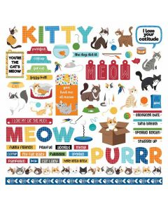 Cat Lover Element Stickers - PhotoPlay*
