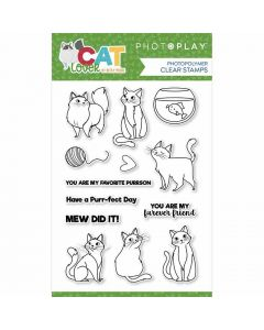 Cat Lover Stamps - PhotoPlay*