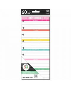 MAMBI Daily Schedule planner pages