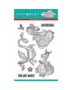 Dragon Dreams Clear Stamps - PhotoPlay