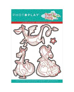 Up and Away Clear Stamps - Dragon Dreams - PhotoPlay