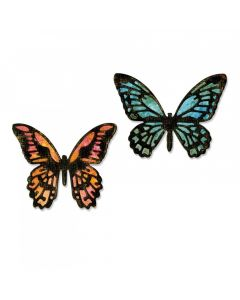 Tim Holtz butterfly detailed die set