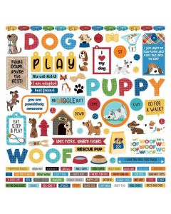 Dog Lover Element Stickers - PhotoPlay*