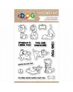 Dog Lover Stamps - PhotoPlay*