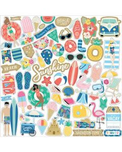 Dive Into Summer Element Sticker - Echo Park*