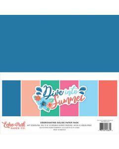 Dive Into Summer Solids Kit - Echo Park*