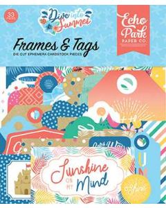 Dive Into Summer Frames & Tags - Echo Park*