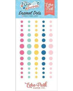 Dive Into Summer Enamel Dots - Echo Park*