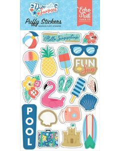 Dive Into Summer Puffy Stickers - Echo Park*