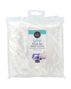 Color Pour Plastic Drop Cloth