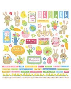 Easter Wishes Element Stickers - PhotoPlay*