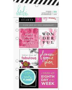 Heidi Swapp Elegant Planner Stickers