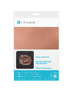 Silhouette Embossable foil material