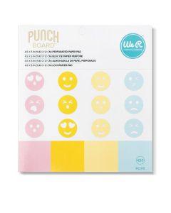 We R Memory Keepers Emoji Punch Board Paper Stack