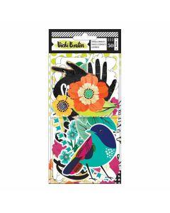 Vicki Boutin Color Kaleidoscope Ephemera