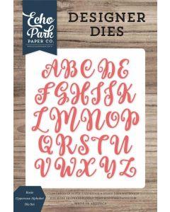 Rosie Uppercase Alphabet Dies - Echo Park