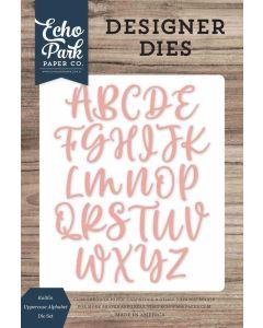 Kaitlin Uppercase Alphabet Dies - Echo Park