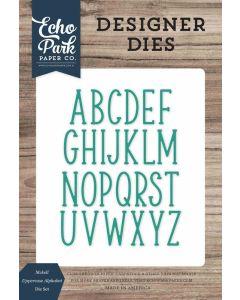 McKell Uppercase Alphabet Dies - Echo Park