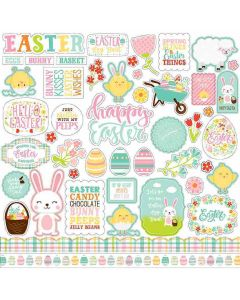 Easter Wishes Element Stickers