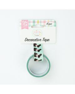Chocolate Bunnies Decorative Tape